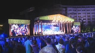 Concert Andre Rieu, vineri 5 iunie 2015 (5.06.2015), Bucuresti, Piata Constitutiei 18