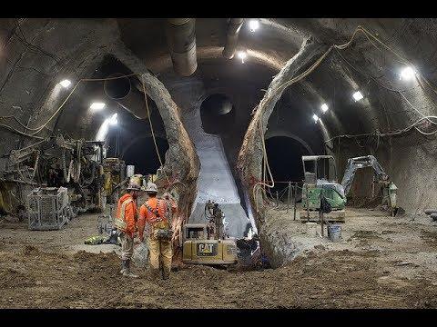 SFMTA Central Subway Tour - Chinatown Station Excavation Complete