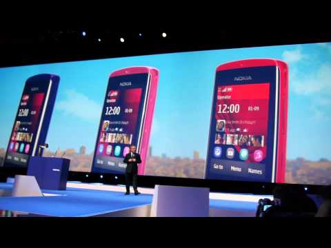 Nokia Asha Phones Launch