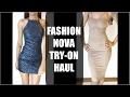 Good Girl Vs Bad Girl | FASHION NOVA TRY-ON HAUL | New York Fashion Week 2017