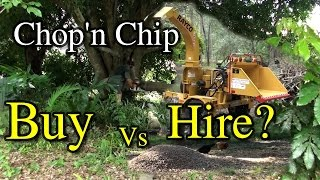 Chopping & Chipping Buy or Rent Mulcher Acreage Maintenance