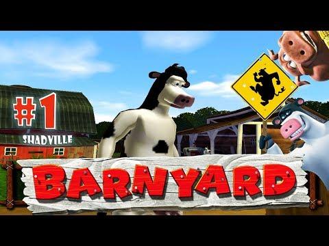 Рога и Копыта ☀ Barnyard Прохождение игры #1