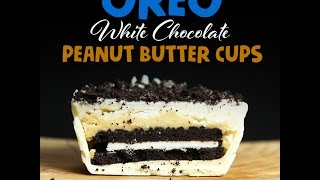 Oreo White Chocolate Peanut Butter Cups