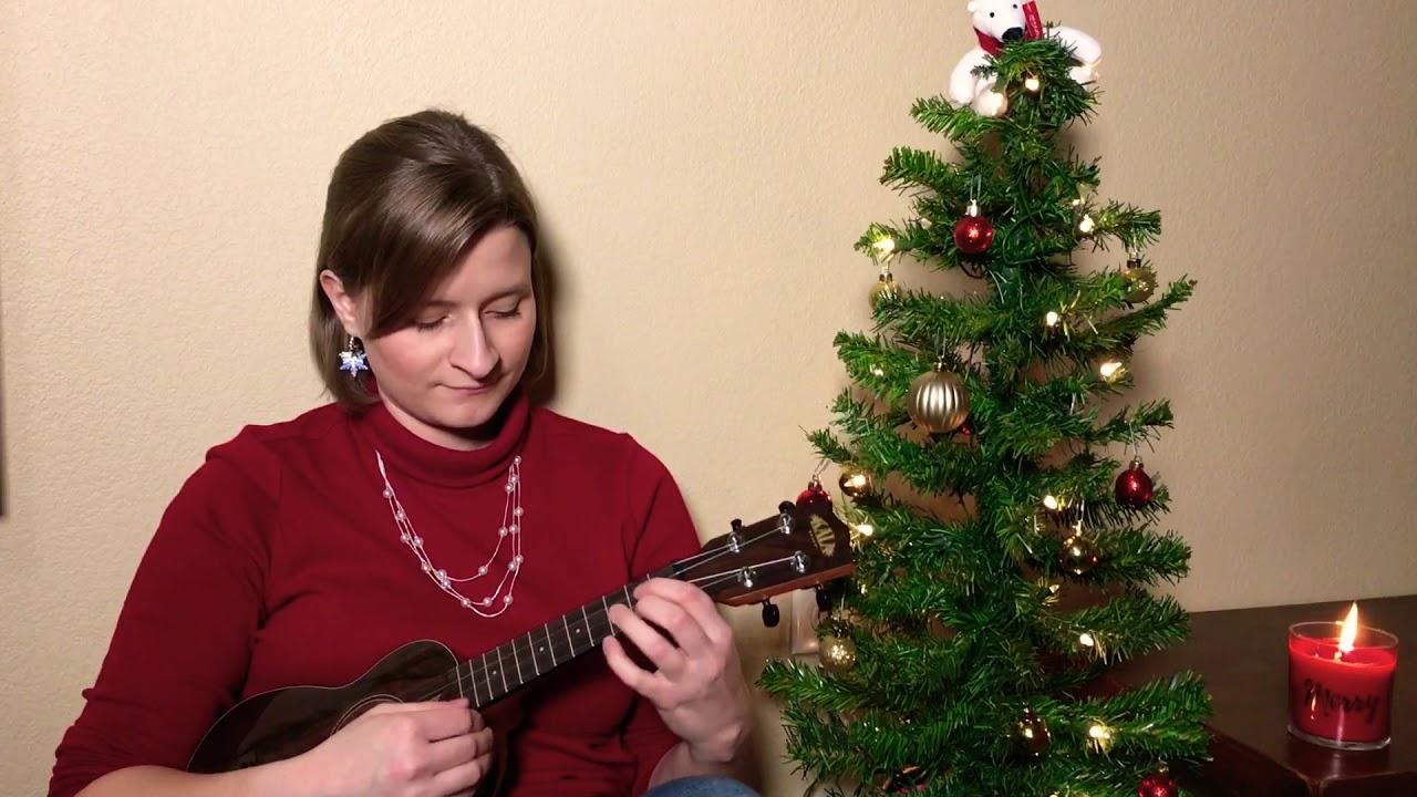 """""""White Christmas"""" Ukulele Cover by Gracie Haining"""