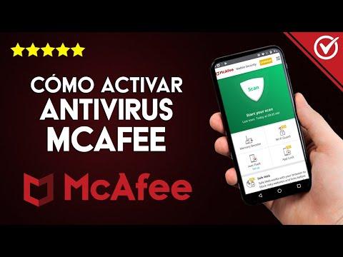 Cómo Activar McAfee Antivirus
