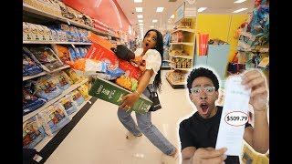 Download Anything My GIRLFRIEND Can CARRY, I'll Buy It Challenge Mp3 and Videos