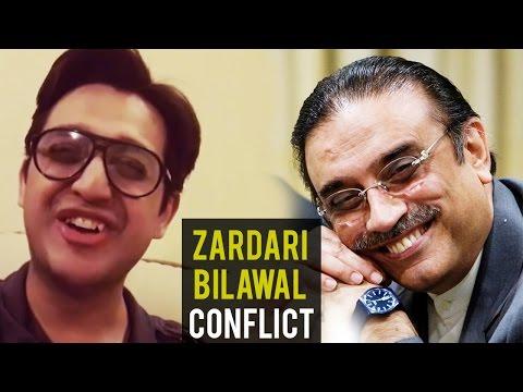 Zardari Bilawal Conflict