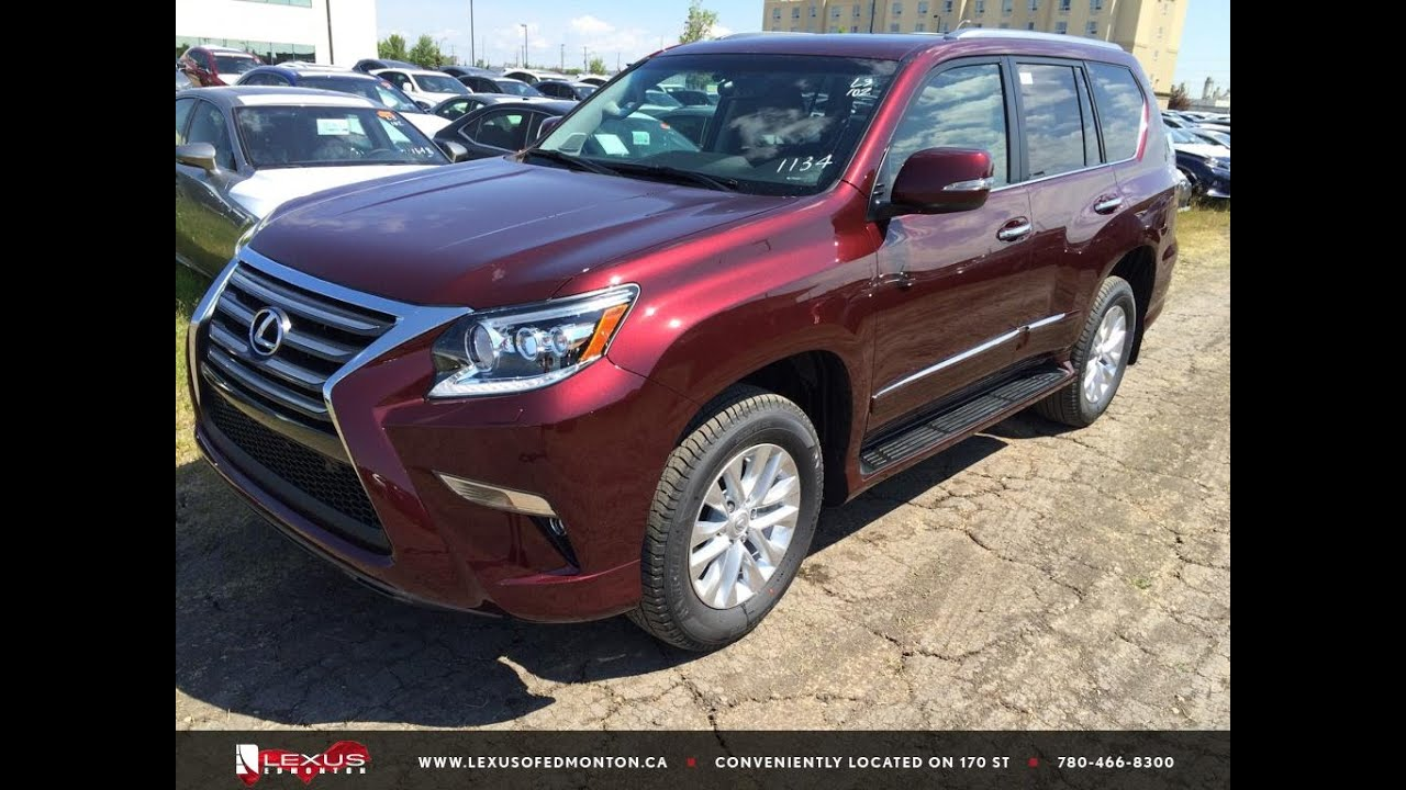 New 2015 Red Lexus GX 460 4WD Premium In Depth Review ...