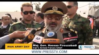 Iranian military revealed more of their new weapons_Army Day
