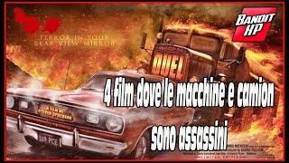 4 film dove le auto e camion sono assassini