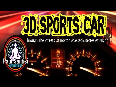 #1 3D Audio In The World 3D Sports Car Holophonic Sound Experience Paul Santisi Virtual Reality