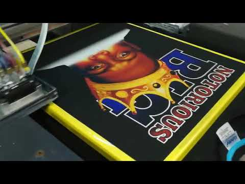 Fast Speed Tshirt Printing Machine Direct To Garment DTG Printer With White Ink