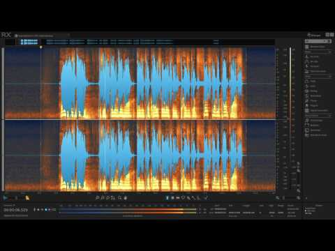 Edit Podcast Vocals with RX Elements