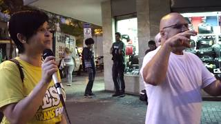 Message: On the Streets of Belo Horizonte, By Shane W Roessiger