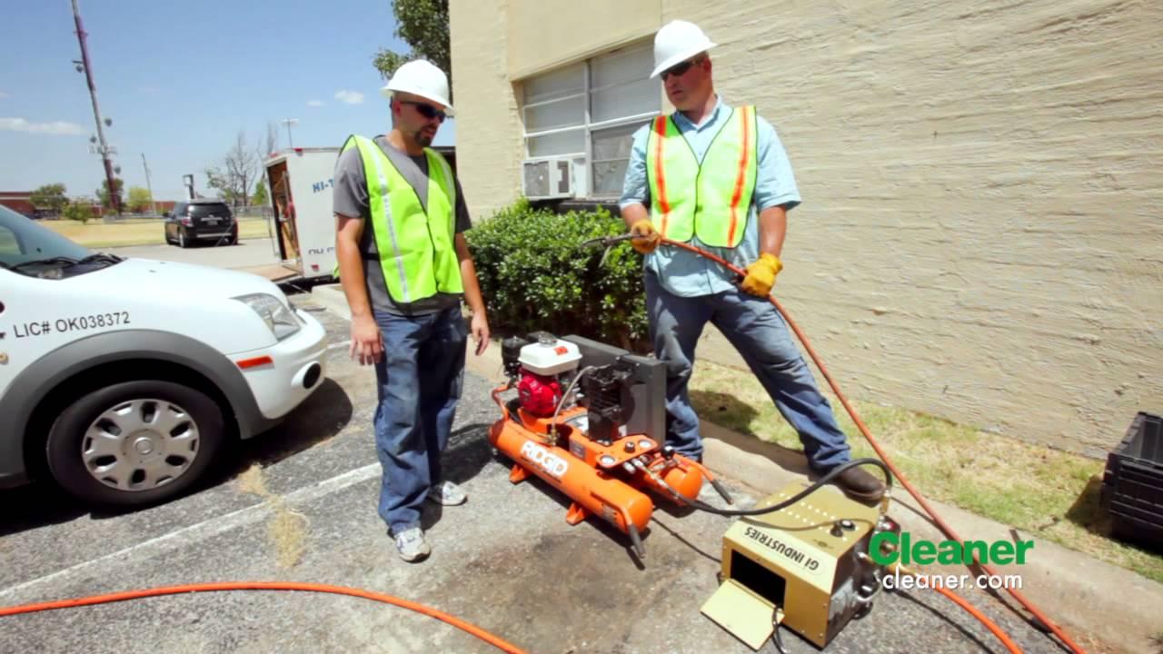 The Proper Diagnosis Hi Tech Plumbing Leak Detect Cleaner