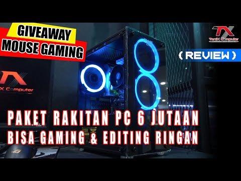[ Review ] Paket PC Gaming 6 Jutaan (AMD Ryzen 3 3200G) - GIVEAWAY 2 Mouse Gaming RGB