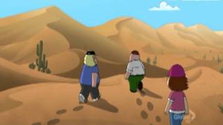 Family Guy - Peyote in the desert