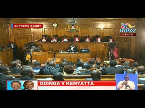 The  #PresidentialPetitionKE petition at the Supreme Court
