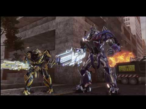Transformer PlayGame - Fight of Autobot: Optimus Prime, BumbleBee, Drift