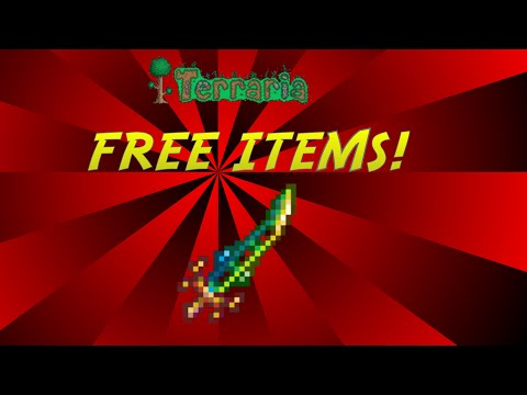 Terraria | HOW TO GET FREE ITEMS | NO HACKS OR CHEATS