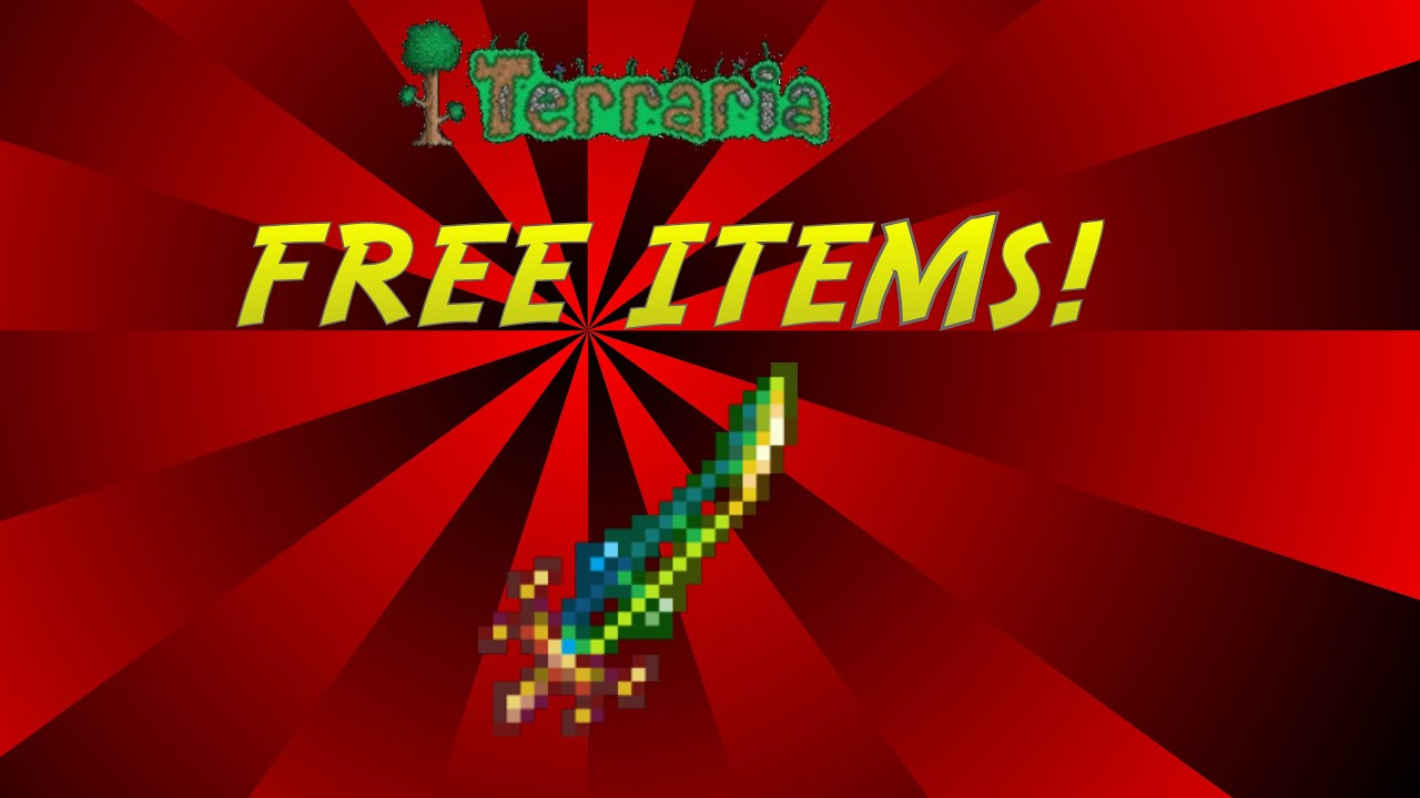 <b>Terraria</b> | HOW TO GET FREE ITEMS | NO HACKS OR <b>CHEATS</b> - YouTube