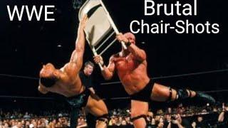 WWE Brutal Chair Shots! (Part-1)
