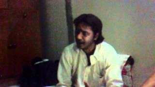 Asghar Khan Reciting Yasrab Nu Jawna Ay At My Home