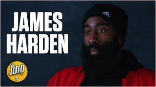 James Harden talks Rockets' small-ball lineup, MVP standings & Giannis' assist joke | The Jump
