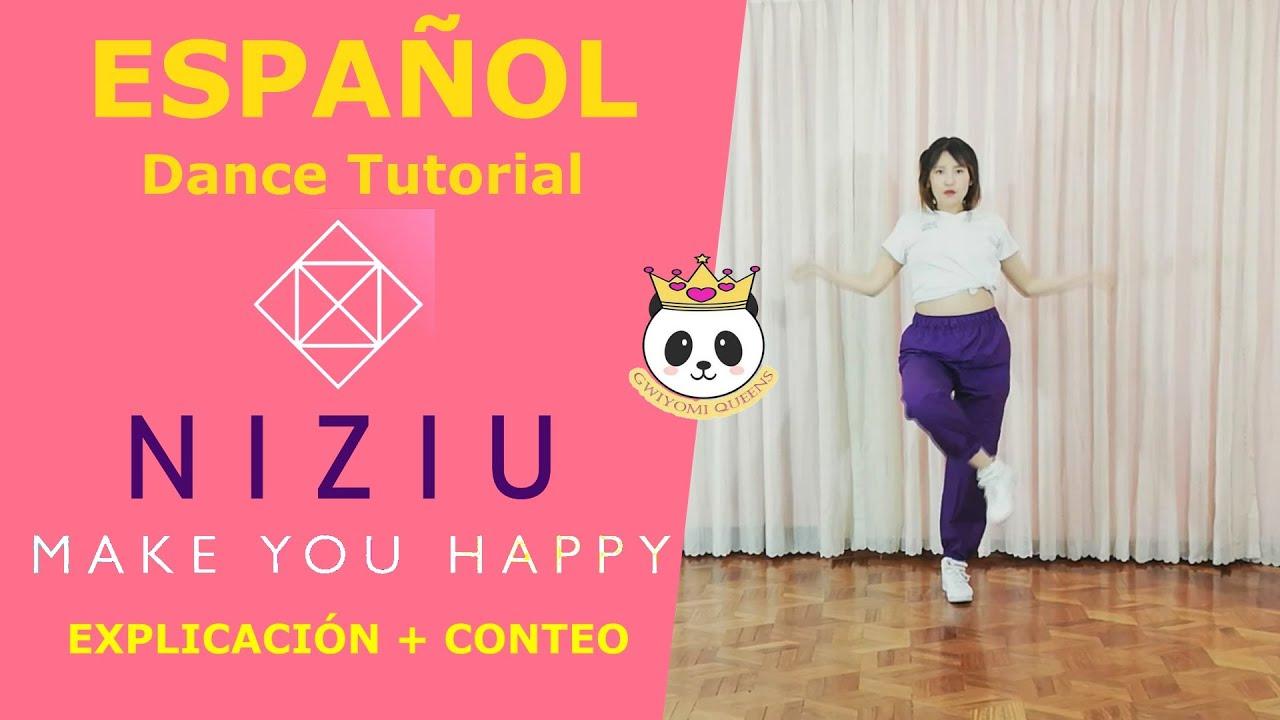 NiziU 『Make you happy』| ESPAÑOL Dance Tutorial | Mirror | GWIYOMI QUEENS (Sarai)