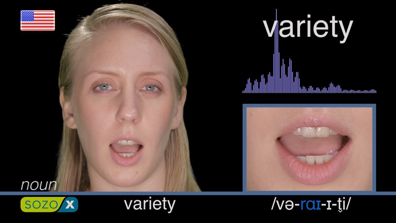 How To Pronounce VARIETY like an American - English Pronunciation