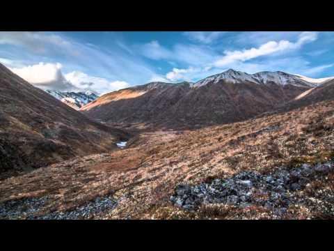 Mountain Valley in the Yukon