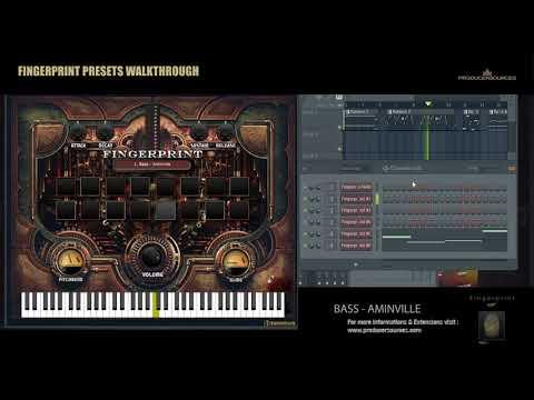 Fingerprint VST Walktrough (WIN, MAC, AU) - www.producersources.com