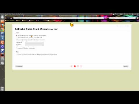How to Setup SabNZBD+ To download from Usenet - YouTube