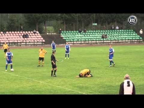 Skróty meczu Rominta Gołdap - Granica Kętrzyn