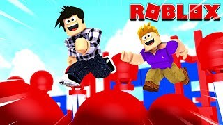 ON A FAIT LE NINJA WARRIOR DANS ROBLOX !
