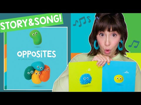 Opposites Read Aloud & Action Song For Kids | StoryTime With Bri Reads