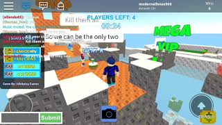 Roblox is playing with my friends