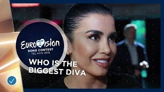 Who is the biggest diva of Eurovision 2019?