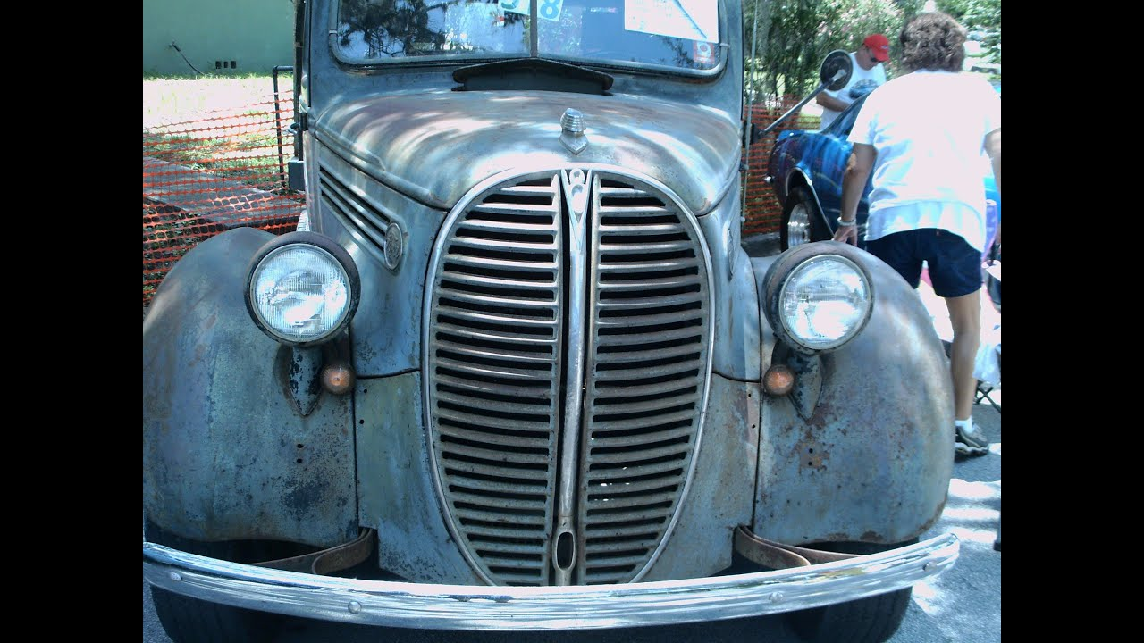 1938 Ford Flatbed Truck Gray Grov070412 Youtube