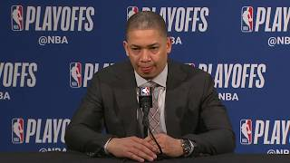 Tyronn Lue Postgame Interview | Cavaliers vs Pacers - Game 3 | April 20, 2018 | 2018 NBA Playoffs