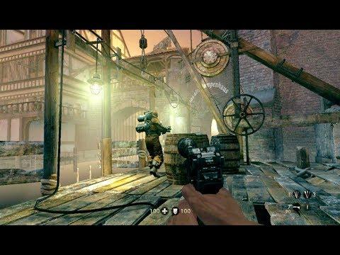 Wolfenstein The Old Blood Stealth Kills & Mayhem Gameplay