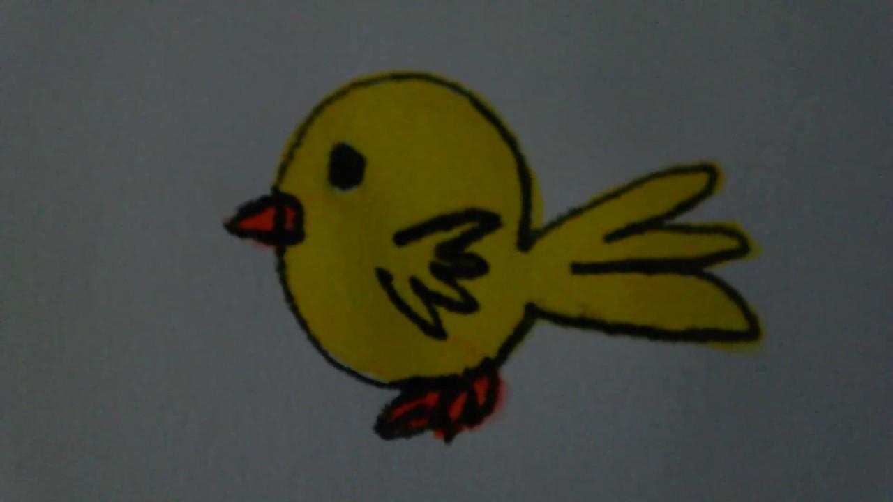 How To Draw Chick Civciv Nasil Cizilir Youtube