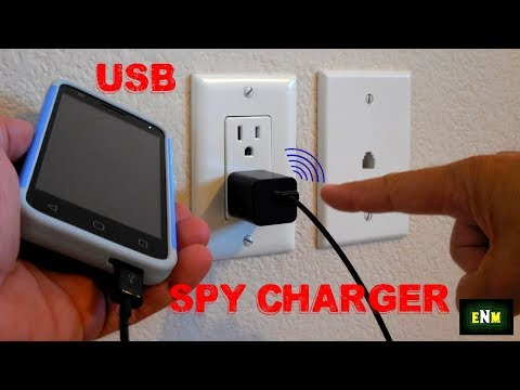Mobile Phone USB Charger Spy Listening Gadget