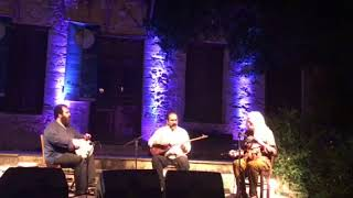 ross daly-kourosh ghazvineh-pedram khavarzamini-concert in labyrinth-CRETE-Greece