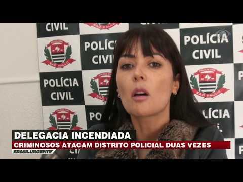 Quadrilha explode delegacia pela 2ª vez em SP