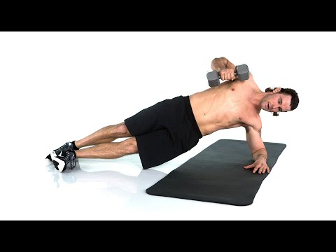 Storm Newton's Dumbbell Challenge – Quick At-Home Workout – SELF Burn 100 Calories
