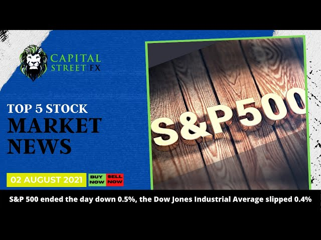 [S&P 500] Technical Analysis & Market News By Capital Street FX - August 02, 2021