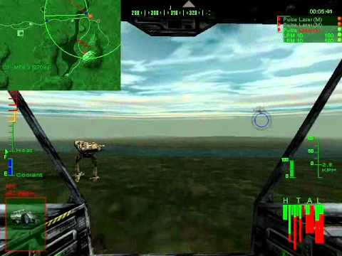 Repeat Lets play MechWarrior 3: Operation 1, Mission 2 by