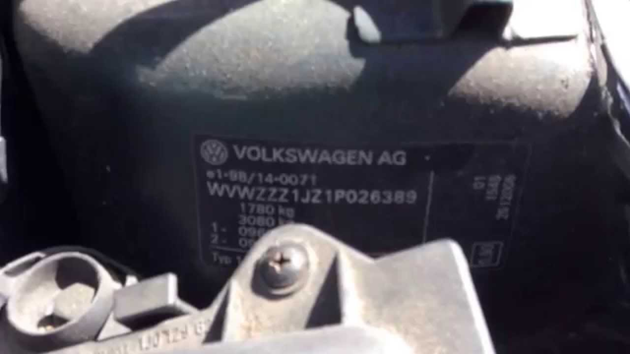 Watch on 2003 vw jetta 2 0 engine
