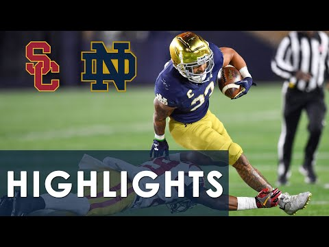 USC vs. Notre Dame | EXTENDED HIGHLIGHTS | 10/23/2021 | NBC Sports